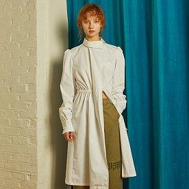 REFORMATION COTTON SHIRT DRESS