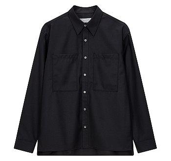 [CHIC] 투포켓 아우터형 셔츠