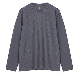 루즈핏 변형골지 티셔츠
