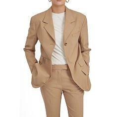 Sand oversized trousers blazer