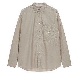 [COOL] 백 플랩 코튼 워싱 셔츠