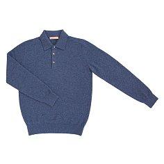 Soft Cashmere Collar_Blue