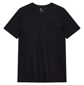 에센셜 브이넥 반팔 티셔츠
