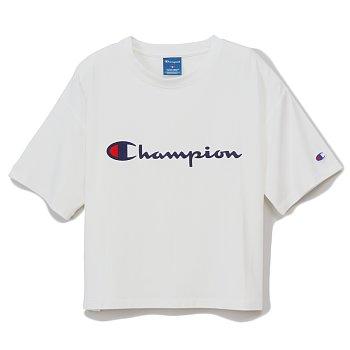 a89183e87ef0 WOMEN'S T-SHIRT - WHITE (CW-PS313) 챔피온 우먼즈 액티브스타일 반팔