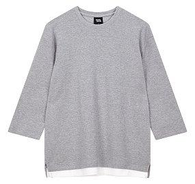 7부 와플 티셔츠