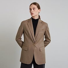 HELENA JACKET, OLIVE BROWN