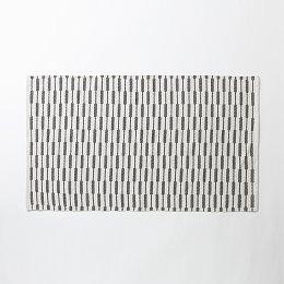 블록 프린트 면 러그_150x90cm