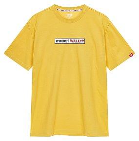 월리 그래픽 티셔츠