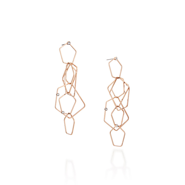 Rudy Earrings_PINK GOLD