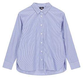포플린 스트라이프 셔츠