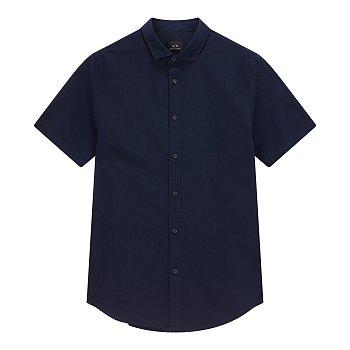 서커 스트라이프 하프 셔츠