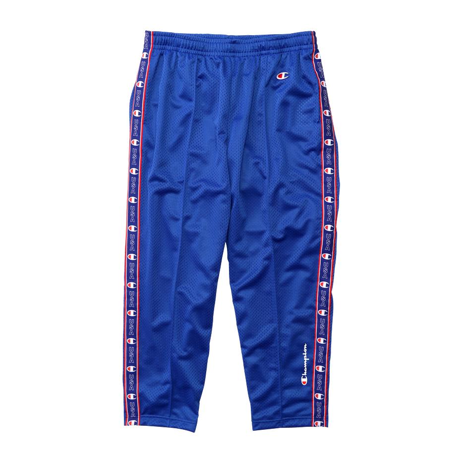 CHAMPION MESH LONG PANTS - BLUE (C3-P203) 챔피온 재팬 액션스타일 메쉬 롱팬츠