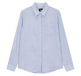 간절기 솔리드 셔츠