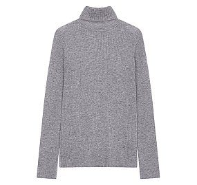 터틀넥 슬림 스웨터