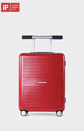 [LIFE x RAWROW] LIFExR TRUNK HARDSHELL 37L_RED 라이프 로우로우 트렁크 캐리어