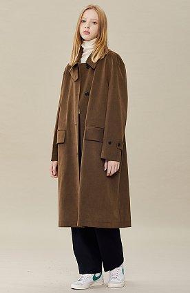 스웨이드 코트
