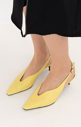 CURVED SLINGBACK D9S06YW