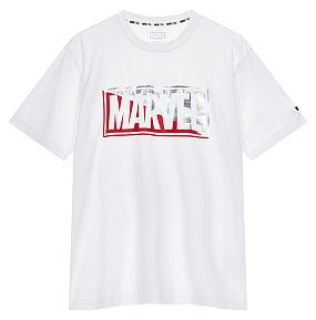 마블 컬러로고 티셔츠