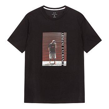 남성 스트릿 스타일 반팔 티셔츠