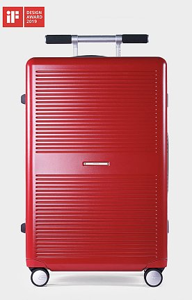 [LIFE x RAWROW] LIFExR TRUNK HARDSHELL 88L_RED 라이프 로우로우 트렁크 캐리어