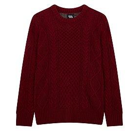 케이블 스웨터