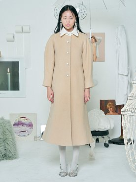 Wool Aurora Coat [BEIGE]