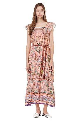 모모 에스닉 맥시 드레스