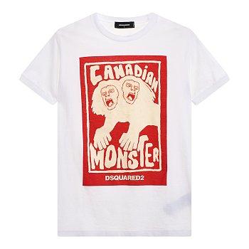 몬스터 그래픽 반팔 티셔츠