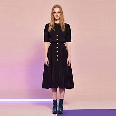 [레드벨벳 아이린 착용]Cupra Button Dress in Black