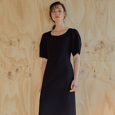 19ss - Elegance dress - black