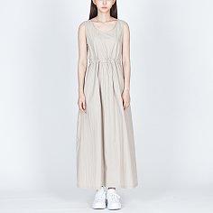 슬리브리스 롱 드레스 (웜그레이)