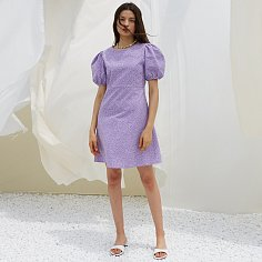 INES DRESS, PURPLE
