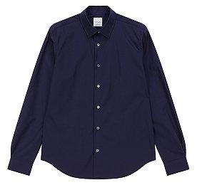 슬림 코튼 베이직 셔츠
