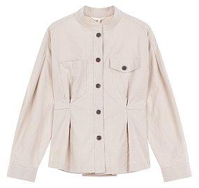 피핀 차이나카라 셔츠 블라우스