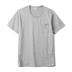 HBP-001 Organic Cotton Pocket Tee Grey 버거스 플러스 오가닉 코튼 포켓 티셔츠