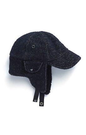 BOMBER HAT / NAVY TOWEL
