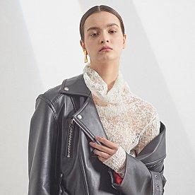 [16차 PRE-ORDER / 배윤영,설인아,김설희 착용]Matisse lambs leather Rider jacket -  Ze