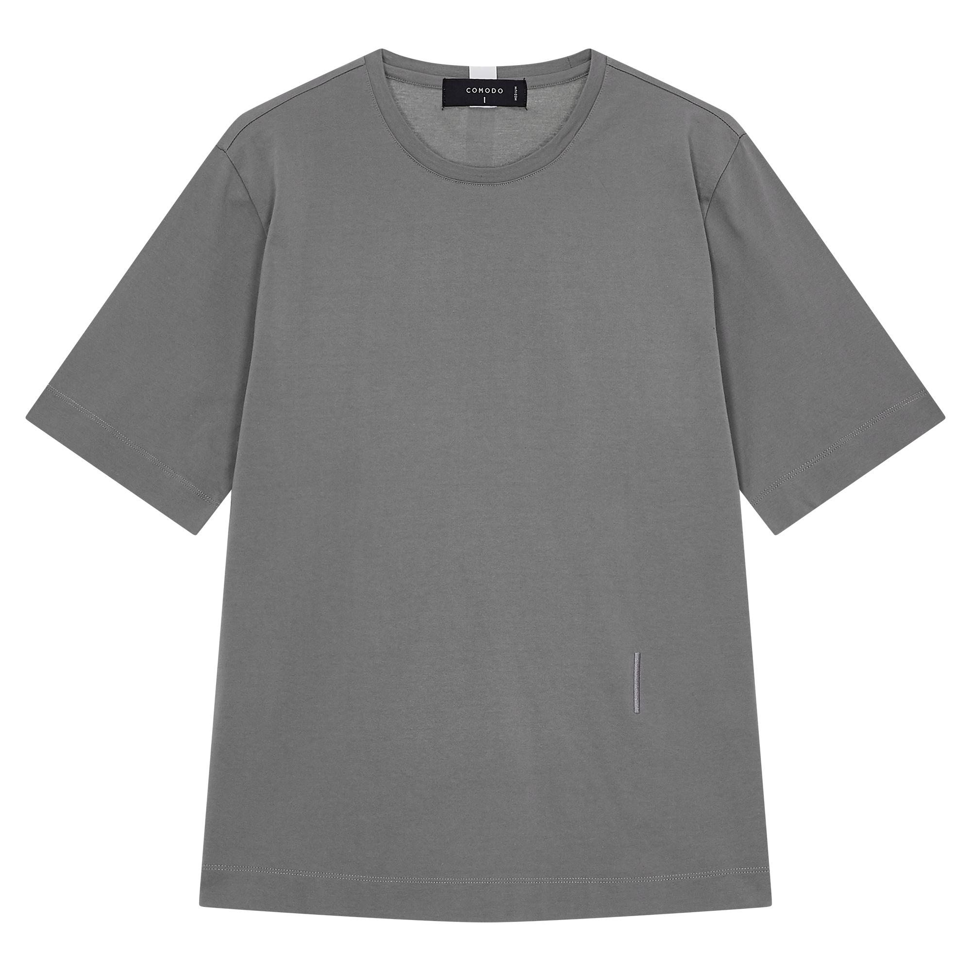 [ESSENTIAL] 모던 실켓 티셔츠