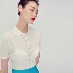 Isabel Collar Knit(IVORY)