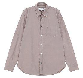 내부 포켓 슬림핏 셔츠