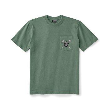 SMOKEY BEAR SHORT-SLEEVE ONE POCKET T-SHIRT Green 필슨 스모키베어 숏 슬리브 원포켓 티