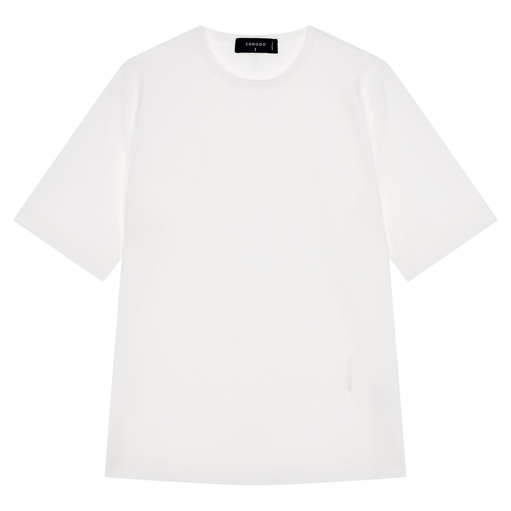 [ESSENTIAL] 베이직 라운드 반팔 티셔츠