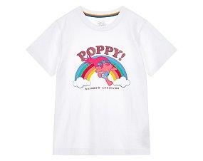 여아 트롤 그래픽 티셔츠