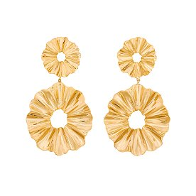 Joli Flare Layers Earrings_GOLD