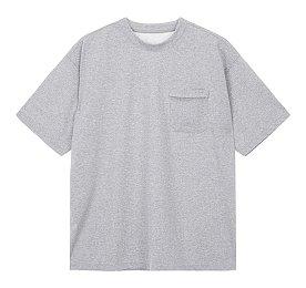 오버핏 포켓 티셔츠