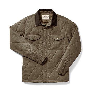 HYDER QUILTED JAC-SHIRT TAN 필슨 하이더 퀼티드 자켓 셔츠
