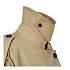 플랩 디테일 트렌치 코트