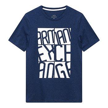 스퀘어 박스 로고 플레잉 티셔츠