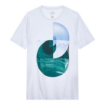 네이쳐 그래픽 반팔 티셔츠