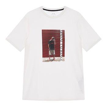 스퀘어 픽처 반팔 티셔츠